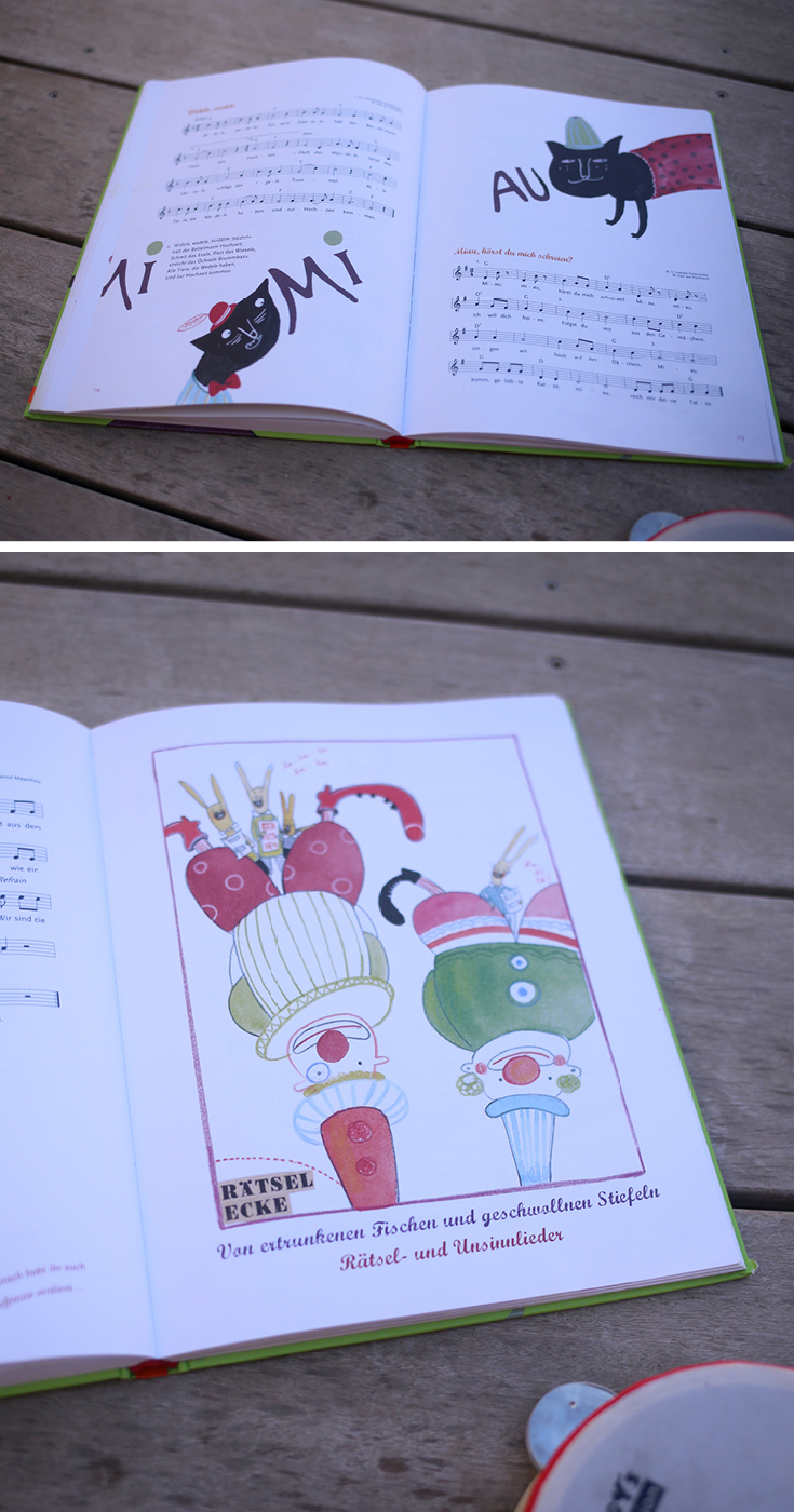 Kinderbuch, Kinderliederbuch, Klassiker und neue Lieder, Kindermusik