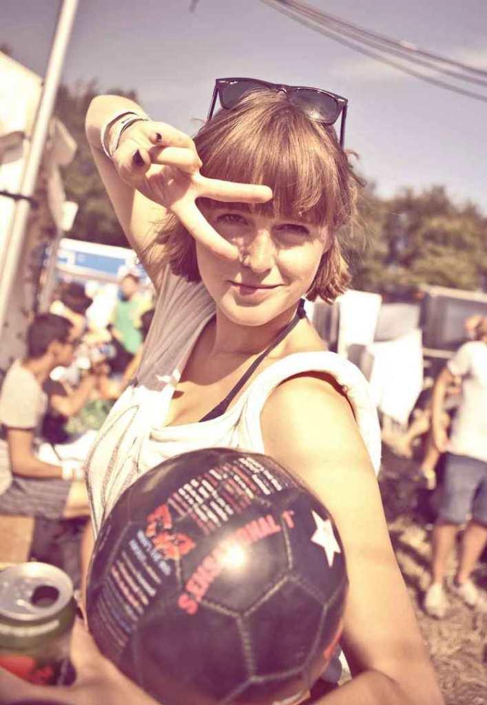 Eir Soccer Clara at Roskilde Music Festival