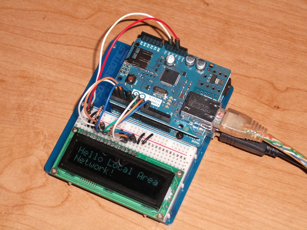Arduino project html to lcd everett s projects