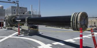EEUU pone a prueba su súper cañón electromagnético