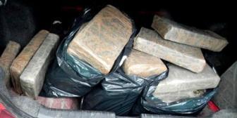 Santa Cruz. Detienen a cuatro sujetos con 211 kilos de droga