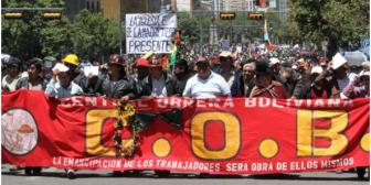 Gobierno promulgará un paquete de decretos en beneficio de los trabajadores bolivianos