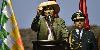 Morales: bolivianas deben cuidarse los dientes en vez de pintarse los labios