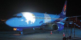 La estatal BoA se potencia con el tercer Boeing 737-700 y anuncia incorporación de otras tres aeronaves