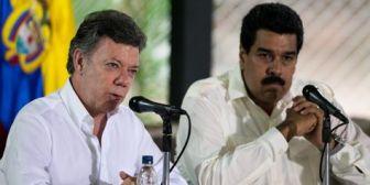 Santos y Maduro se encuentran en Quito tras un mes de crisis fronteriza