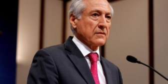 """Canciller chileno rechaza declaraciones de García Linera y afirma que """"están claros en su política"""""""