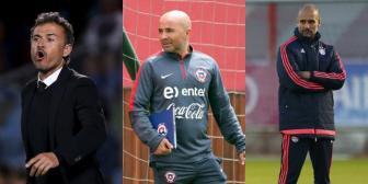 Luis Enrique, Sampaoli y Guardiola, finalistas al mejor entrenador