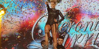 Una sexy Verónica Larrieu se robó el show del Bailando