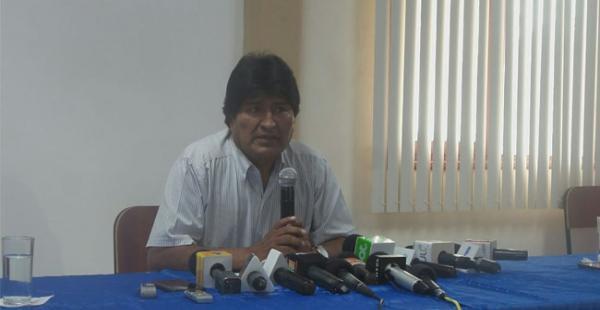 Evo confirma relación con Zapata y dice que el bebé falleció; furioso culpa de las denuncias a la oposición
