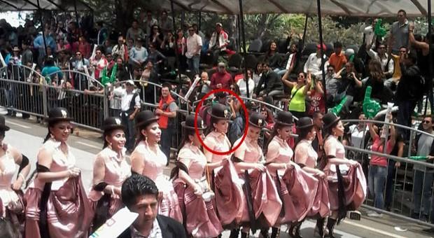 """La gente le gritó a la esposa del Vicepresidente: """"Bolivia dice No"""""""