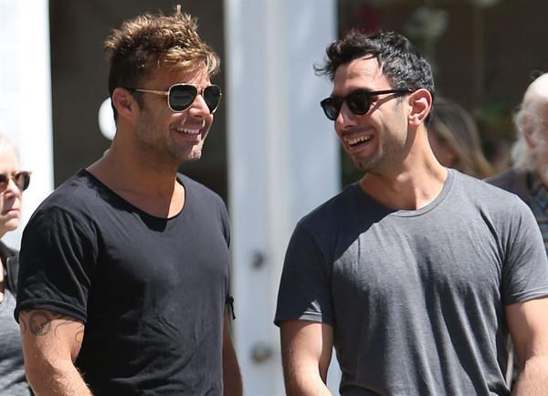 El novio de Ricky Martin tiene una particular manera de llamarlo…