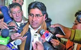 Cocarico rechaza una posible crisis en todo el agro cruceño