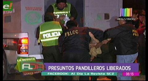 Liberan a presuntos pandilleros sindicados por la muerte de un joven