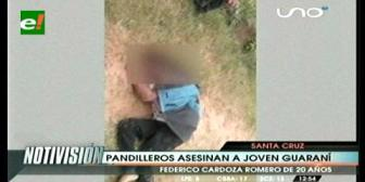 Pandilleros asesinan a un joven en el Plan Tres Mil