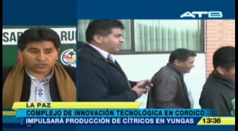 El Gobierno construirá una planta de industrialización de coca