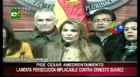 Asambleístas de UD instan a la fiscalía y justicia que cese la persecución en contra de Suárez