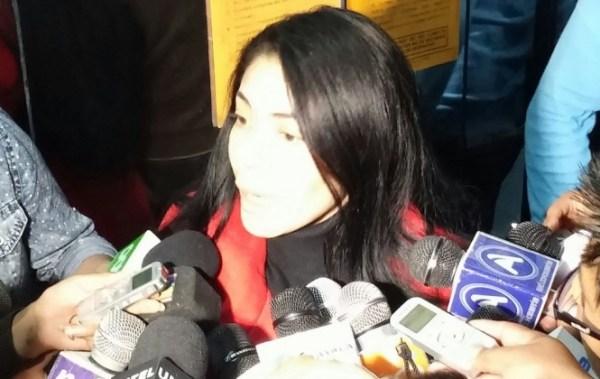 Hermana de Gabriela Zapata prestó declaración ante la Fiscalía
