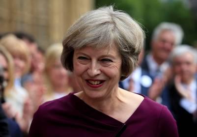 Ministra del Interior y opuesta al Brexit, Theresa May./ AP