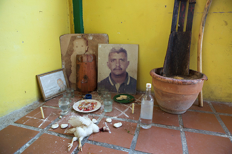 El sacrificio de animales se mantiene como parte de la ritualidad del culto a María Lionza