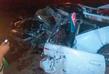 Trágico accidente de tránsito cerca de Cuatro Cañadas en el km 120
