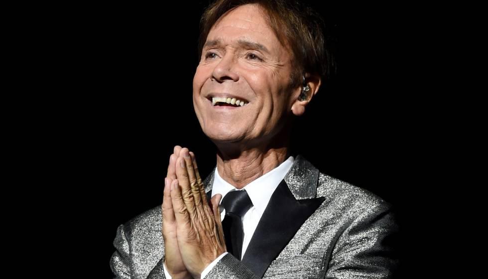 Cliff Richard, en su gira por su 75 cumpleaños en Birmingham.