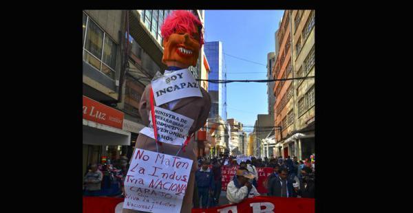 Las protestas pueden volver esta semana a las calles de La Paz