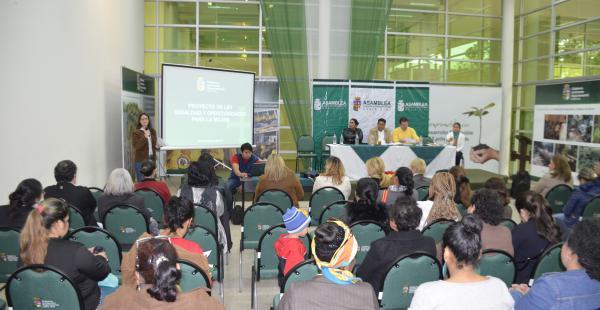 La audiencia públicas se realizaron en el municipio cruceño y en los aledaños
