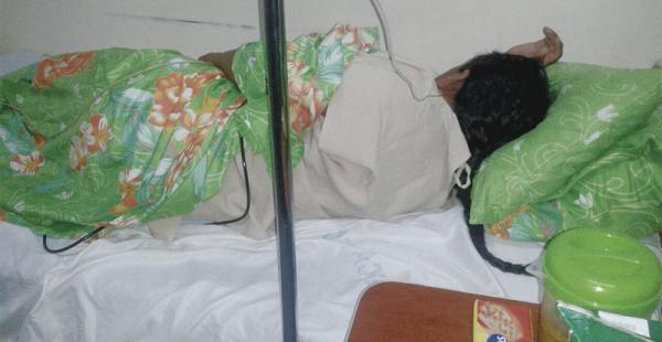 En la clínica AMEC, de la av. Uruguay y 10 de Agosto, se halla internada la exministra Nemesia Achacollo