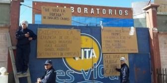 Trabajadores de Laboratorios Vita llevan 9 días de huelga