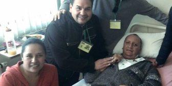 El periodista Cristhian Sailer se aferró a la vida y sobrevivió a un brutal atraco en La Paz