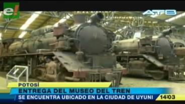 Uyuni estrena un museo ferroviario