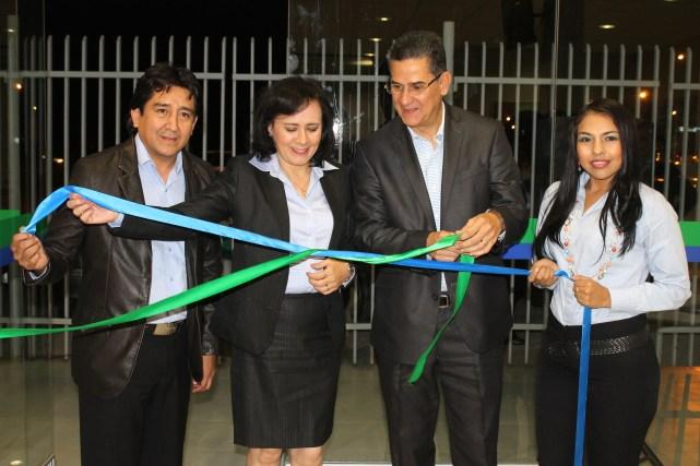 Gary Agreda, Carmen Navarro, Bladimir Reverón y  Aracely Bautista