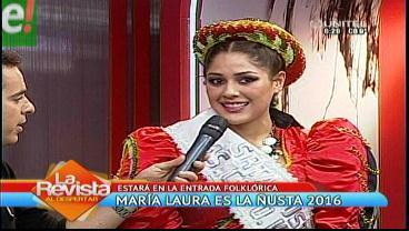 María Laura Zambrana elegida Ñusta 2016