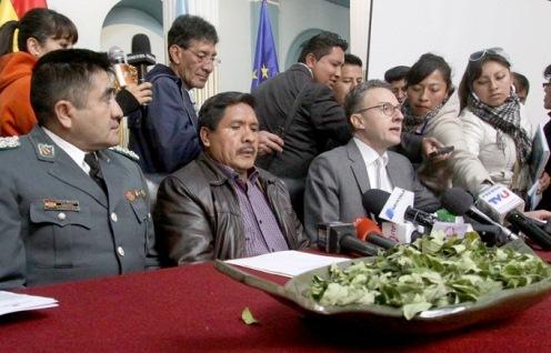UNODC informa que cultivo de coca bajó de 20.400 a 20.200 ha en 2015
