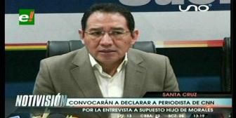 Fiscal General anuncia que se convocará a declarar a Fernando del Rincón, periodista de CNN