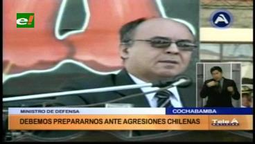 """Ministro Ferreira: """"Debemos resistir hasta la última gota de sangre a cualquier agresión"""""""