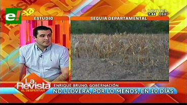Gobernación cruceña lanza nueva ley de emergencia por sequía en municipios
