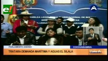 Parlamento Andino escuchará postura boliviana y chilena sobre las aguas del Silala