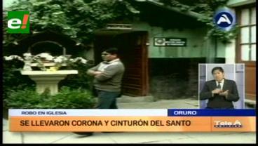 Roban objetos valiosos del Señor de las Lagunas en Oruro