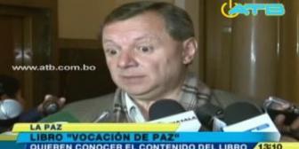 """Gonzáles: """"Quizá vocación de paz es lo que le falta a Chile"""""""
