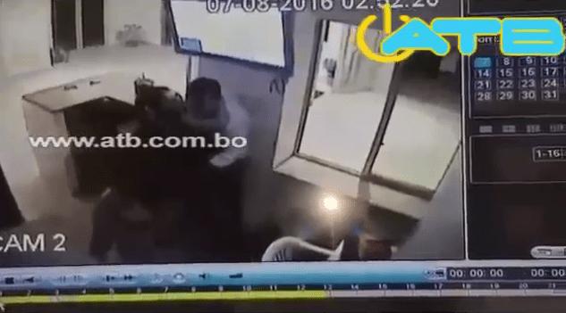 Portero es golpeado salvajemente en Santa Cruz
