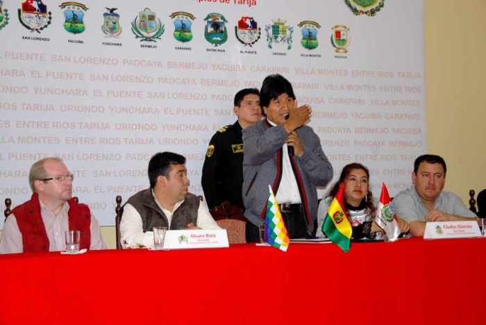 Sesión del 6 de agosto reunirá a más de mil personas en Tarija