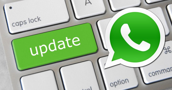 Logotipo de WhatsApp y tecla enter en verde
