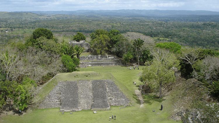 El yacimiento arqueológico de Xunantunich, Belice