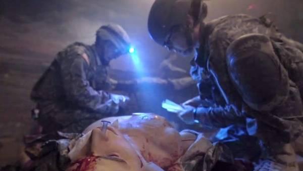 Entrenamiento con maniquíes robotizados en EE.UU./ Captura de video ABC News