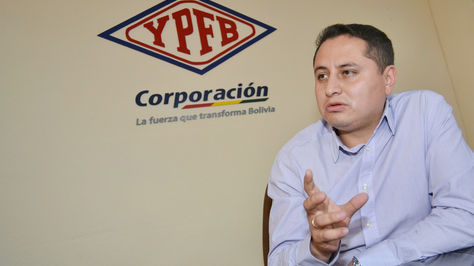 Guillermo Achá, presidente de Yacimientos Petrolíferos Fiscales Bolivianos (YPFB)