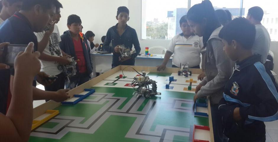 Olimpiadas científicas de robótica