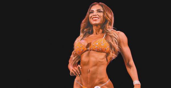 """Vania Sánchez La campeona norteamericana del Bikini Fitness USA 2016 es precavida. """"Soy muy casera, pero al ser persona pública uno está expuesto. No doy mi número de teléfono, mi vida es muy privada y estoy  en constante comunicación  con mi familia,  qu"""