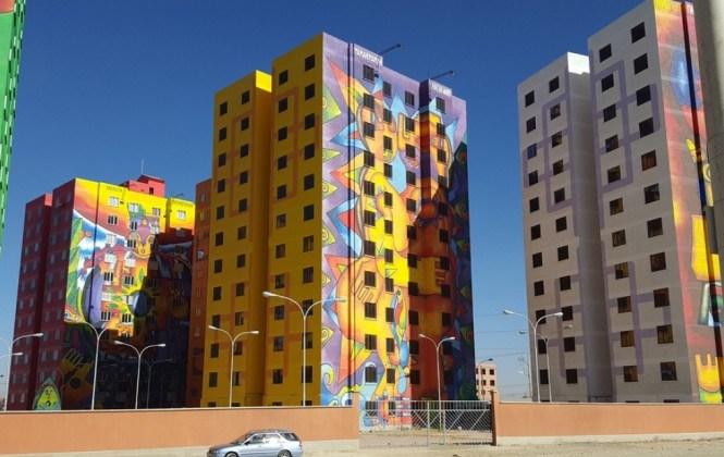 Viceministro asegura que condominio Wiphala estará lleno hasta fines de septiembre