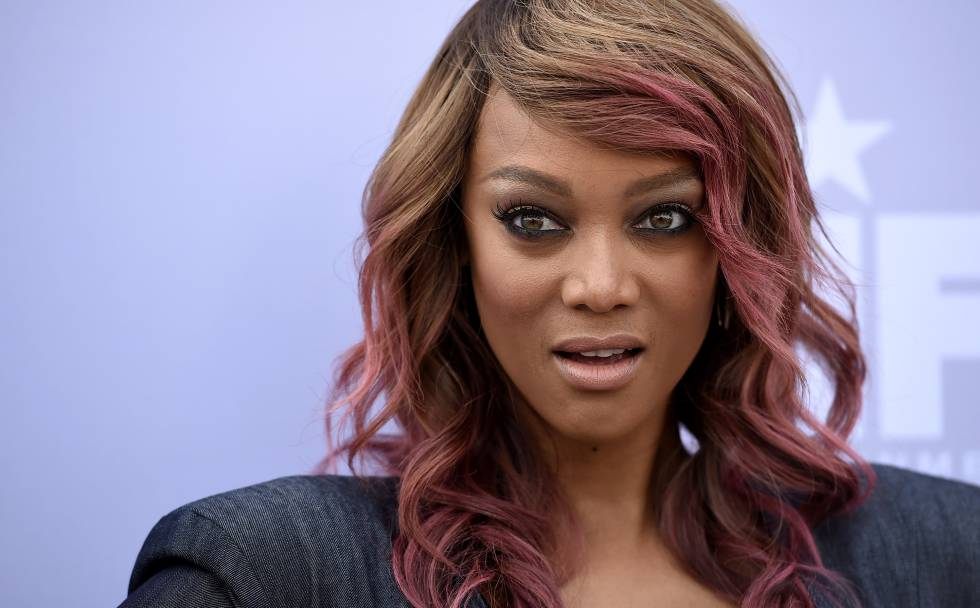 Tyra Banks en la gala The Hollywood Reporter
